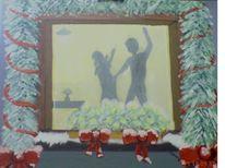 Menschen, Schatten, Mann, Weihnachten