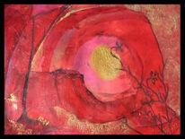 Malerei, Abstrakt, Mitte