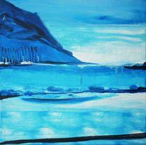 Paradies, Meer, Blau, Struktur