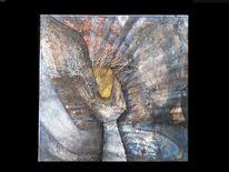 Gefühl, Struktur, Paradies, Ölmalerei