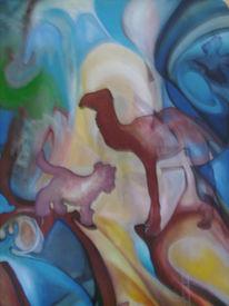 Malerei, Abstrakt, Fabel