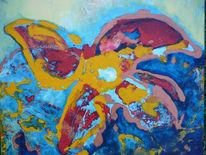 Natur, Blumen, Kraft, Malerei