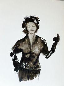 Menschen, Frau, Malerei
