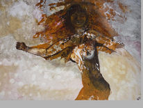 Ölmalerei, Ausdruck, Presenz, Malerei