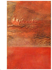 Postkarte, Malerei, Abstrakt,