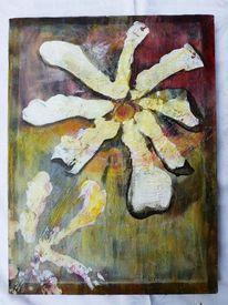 Natur, Struktur, Ölmalerei, Blumen