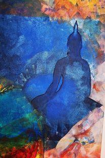 Presenz, Blau, Mixed, Frieden