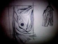 Zeichnungen, Stillleben, Mantel