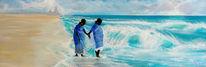 Meer, Strand, Welle, Indien