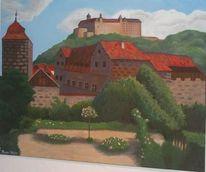Weiß, Alt, Kulmbach, Plassenburg