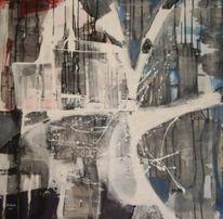 Abstrakt, Lila, Kontrast, Weiß