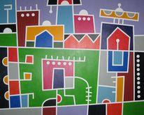 Wohlfühlen, Afrika, Zirkus, Farben
