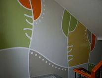 Farben, Klinik, Walldesign, Wandmalerei