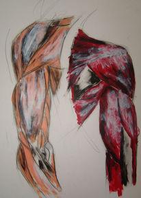 Übung anatomie, Malerei, Anatomie
