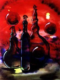 Aquarellmalerei, Malerei