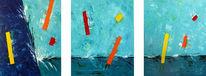 Acrylmalerei, Gemälde, Abstrakt, Malerei