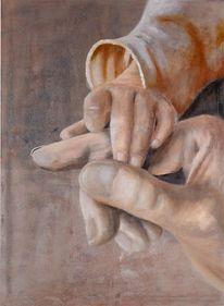 Menschen, Hände, Malerei