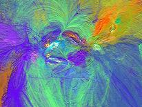 Digital, Seele, Farben, Quelle