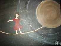 Mond, Stern, Planet, Universum