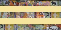 Wandbild, Afrika, Auftragsarbeit, Acrylmalerei