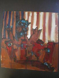 Malerei, Picasso, Finger