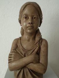 Skulptur, Figur, Gips, Portrait