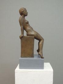 Skulptur, Berlin, Akt, Frau