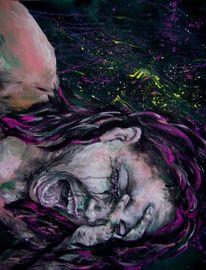Seele, Verzweiflung, Weinen, Pink