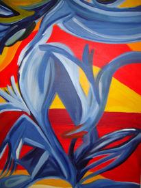 Farben, Lebendige, Malerei, Abstrakt