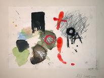 Gegenwartskunst, Moderne kunst, Acrylmalerei, Malen