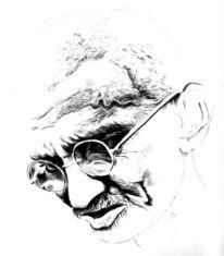 Gandhi, Grafik, Seele