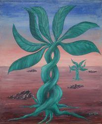 Surreal, Baum, Malerei