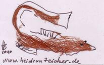Rindenstoff, Taschenkunst, Zeichnungen