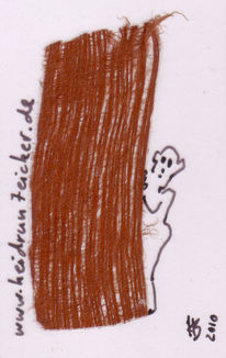 Rindenstoff, Taschenkunst, Zeichnungen, Wald