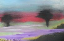 Malerei, Abstrakt, Natur