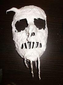 Tod, Maske gibs, Abstrakt, Kunsthandwerk