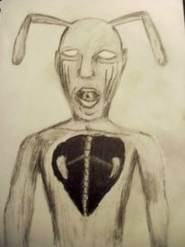 Monster, Psychische anstalt, Satan, Tod