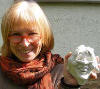 Gesicht, Plastik, Skulptur, Ausdruck