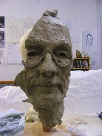Portrait, Vorsicht, Wahnsinn, Skulptur