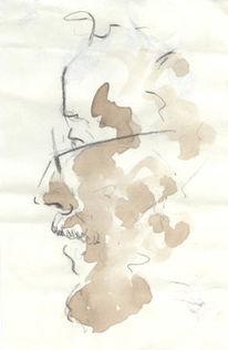 Ausdruck, Malerei, Gesicht, Zeichnung