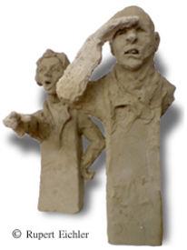 Skulptur, Sinn, Keramik, Figur