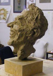 Kopf, Bsonderes, Portrait, Gerissen