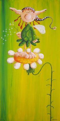 Fantasie, Blumen, Fee, Zauber