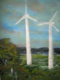 Malerei, Energie, Landschaft, Zeichnungen