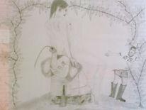 Stiefel, Elefant, Typ, Akt