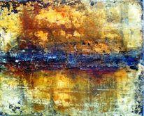 Ölmalerei, Struktur, Beize, Wachs