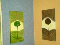 Malerei, Blumen,