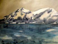 Weiß, Bergsee, Schnee, Di vora anneliese