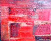Japanpapier, Struktur, Rot, Wüste
