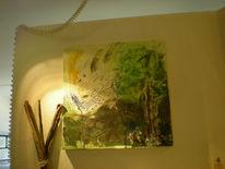 Malerei, Pflanzen, Frühling,